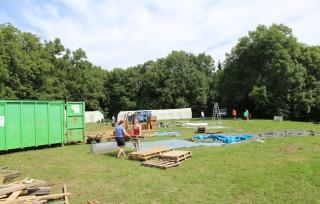 Zeltlager Aufbau 2013