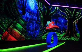 3D Schwarzlicht-Minigolf 2015