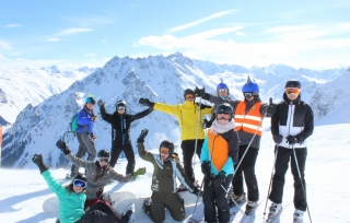 Skiausfahrt 2016