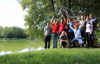 JET Fahrradtour 2015