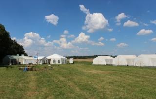 Zeltlagerauf- und abbau 2018