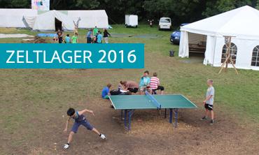 Zeltlager 2016