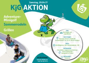 """KjG-Aktion """"Sommerrodeln und Adventure Minigolf"""""""